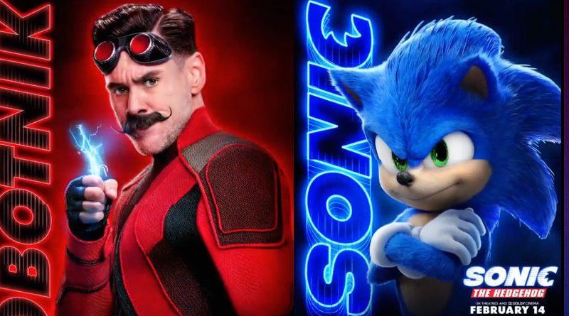 Sonic ganha cartazes individuais dos personagens e emoji no twitter!